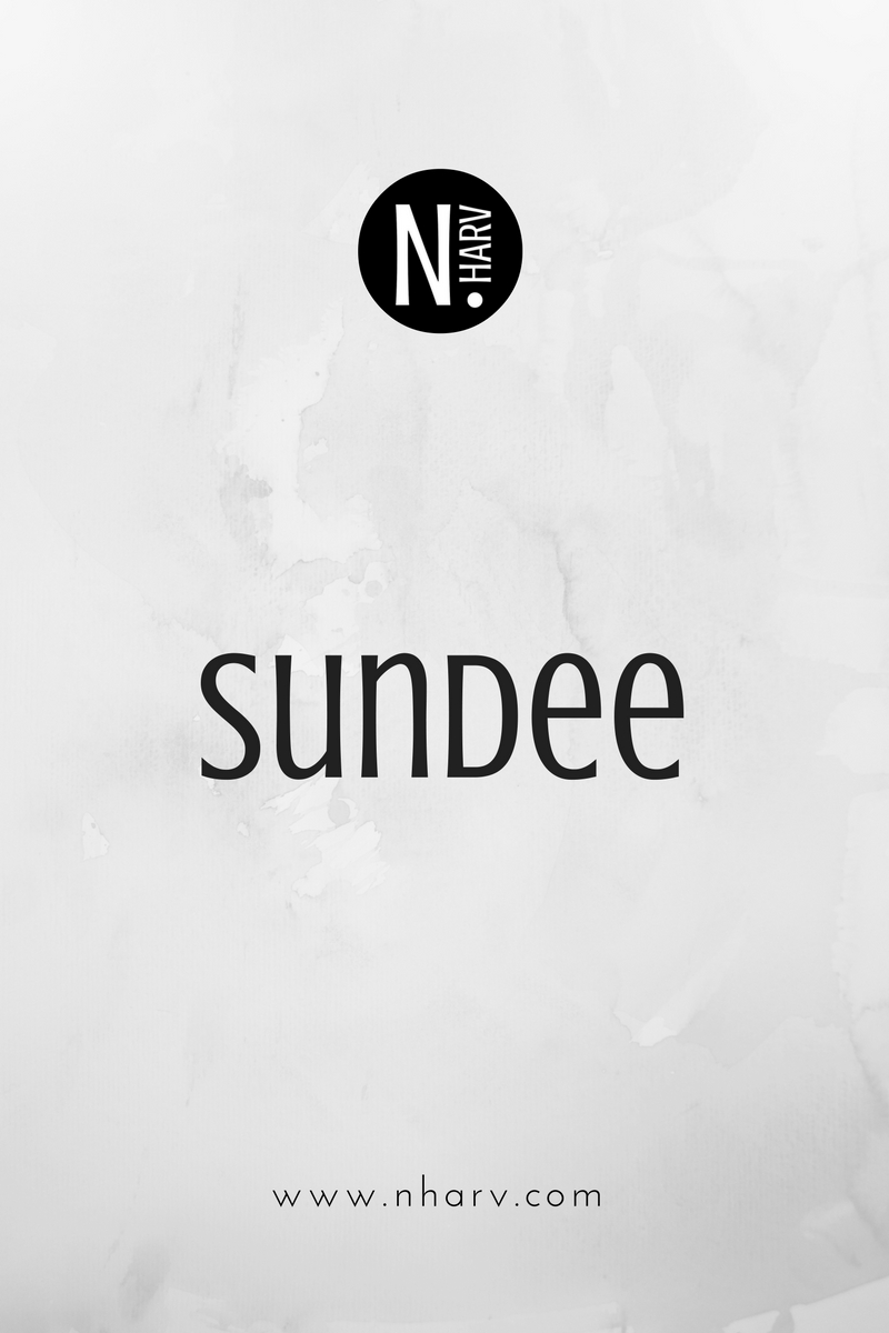 word of the day sundee