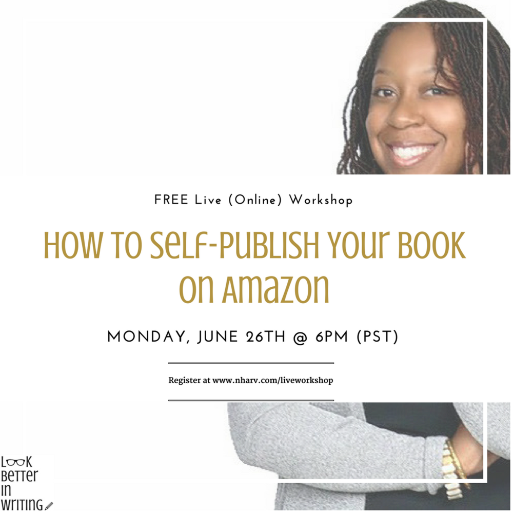 Nailah Harvey teaches you how to self-publish your book on Amazon
