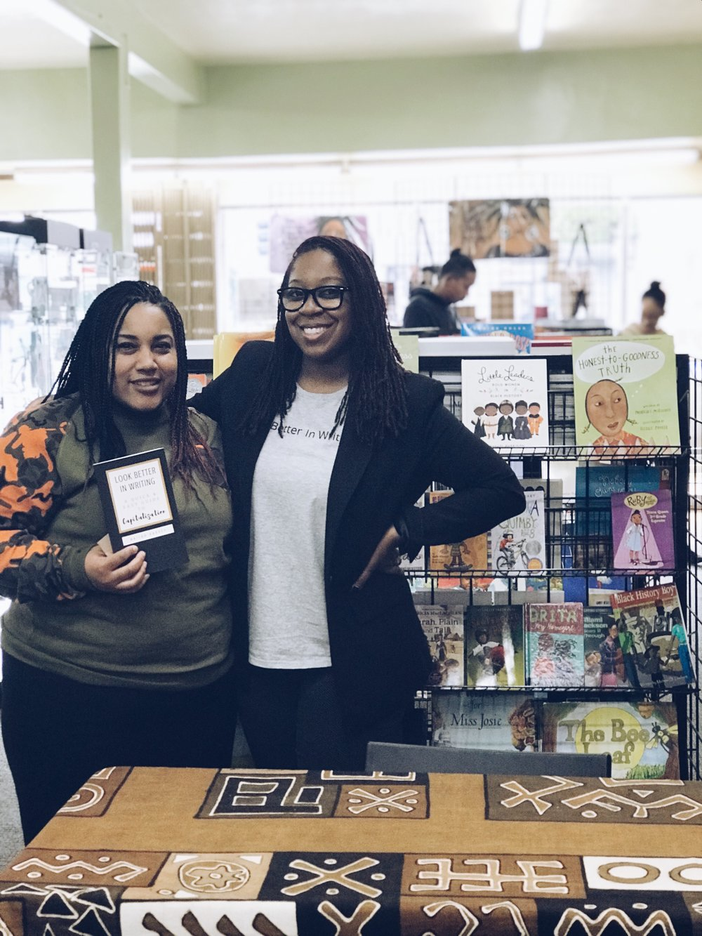 Nailah Harvey Book Signing with Tay.JPG