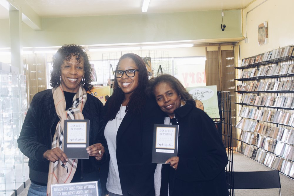 Nailah Harvey Book Signing with Mom and Auntie Lynette.JPG