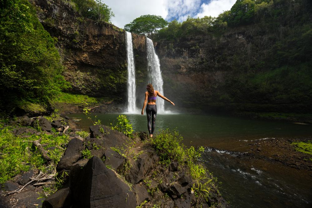 Wailua Falls Chelsea Yamase