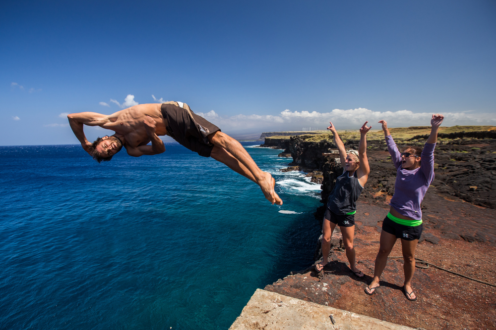 South Point Cliff Diving