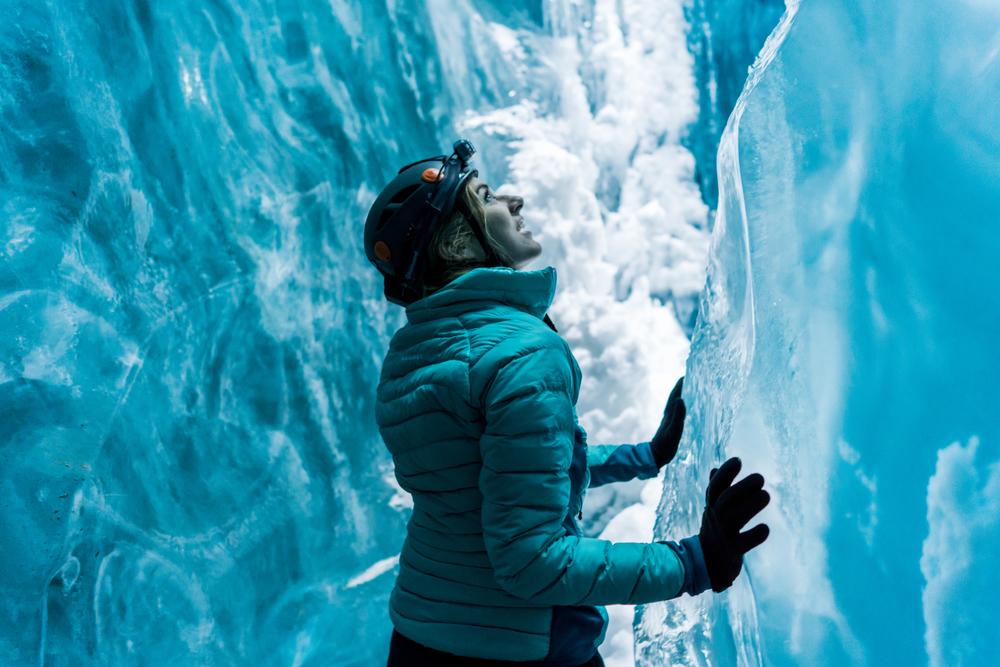 Liz Barney Ice Caves