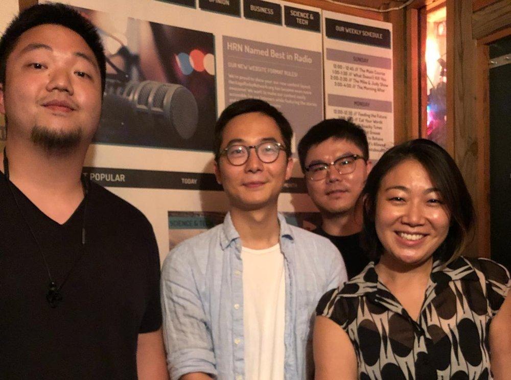 Eric Sze, Dong Lu, Chao Wang and Lynda Liu
