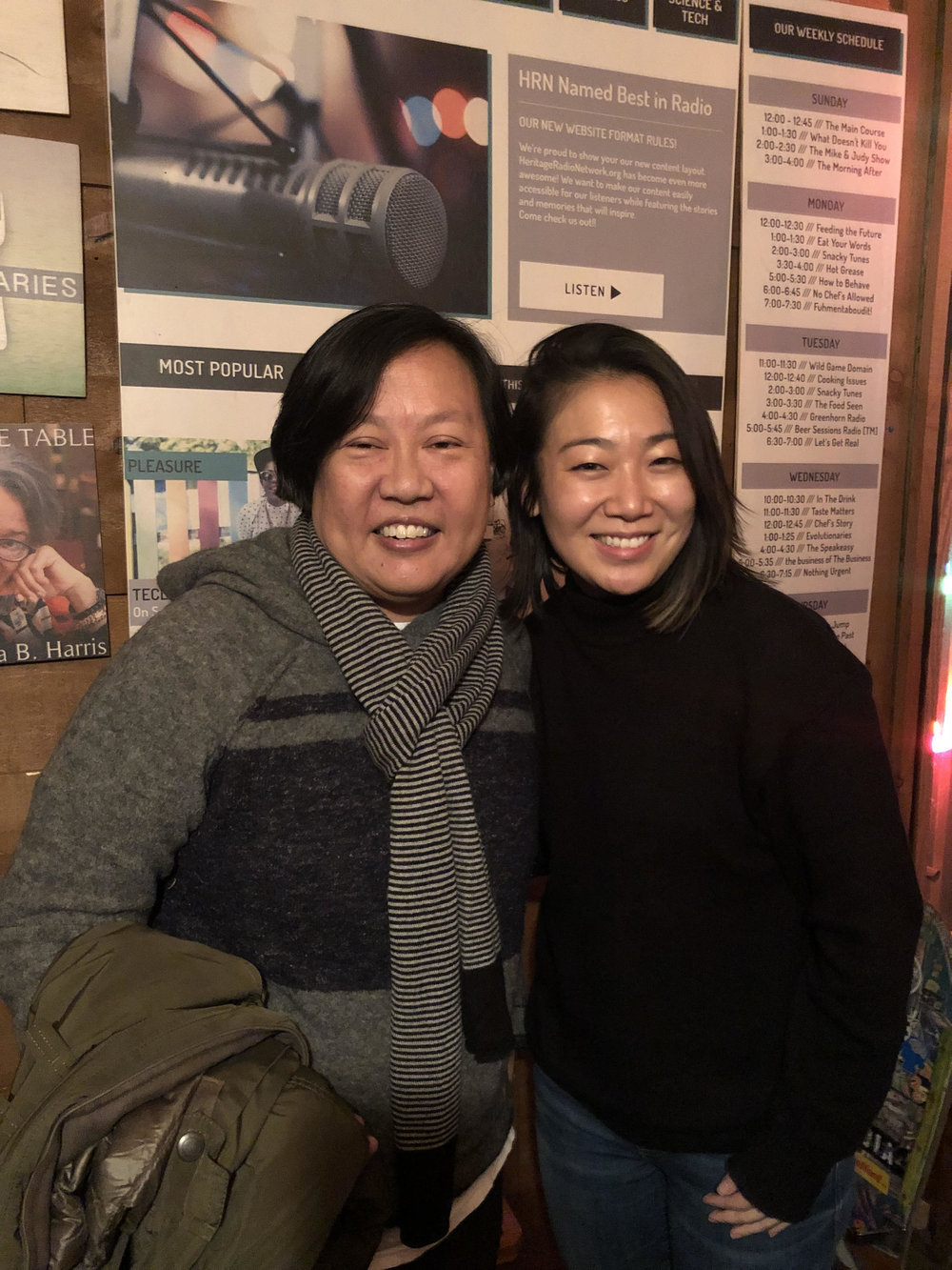 In the studio: Anita Lo & Lynda Liu