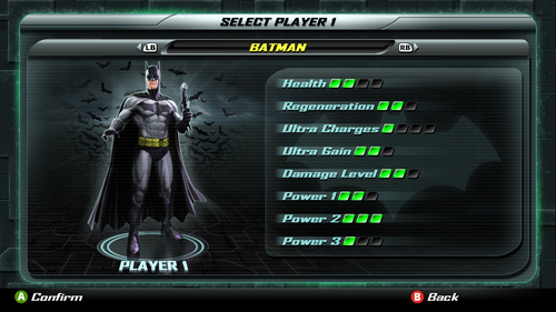 52c2f0ef4 Justice League – Player 1 Select