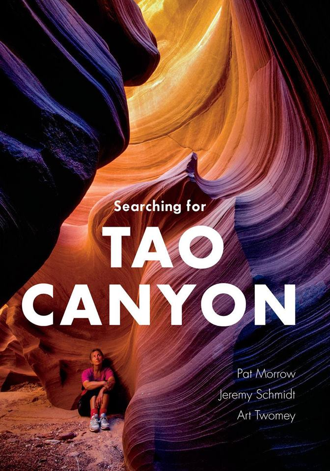 "TUESDAY, OCTOBER 30th - Searching for Tao Canyon with Pat Morrow & Jeremy Schmidt | Join co-authors Pat Morrow and Jeremy Schmidt for a slide show and book signing of their newest offering: Searching for Tao Canyon.Over the period of a decade, beginning in 1975, the subterranean world of the American desert began to offer up its secrets to photographer Pat Morrow, Jeremy Schmidt and Art Twomey. Long before the region was ""discovered"" by modern day adventurers and instagrammed nearly to death, the trio set out to explore and document the slickrock canyons (some for the very first time) that radiate across the surface of the parched Colorado Plateau.In their newly released book, Searching For Tao Canyon, the dirtbag trio embark on a quest to find the perfect slot canyon in America's southwest—what they call ""slickrock Xanadu.""The book, and the presentation, is a tribute to Art Twomey whose early conservation work in the Kimberley area helped lead to Wildsight's organization and mandate today.* Hosted by Paper and Cup and Wildsight"