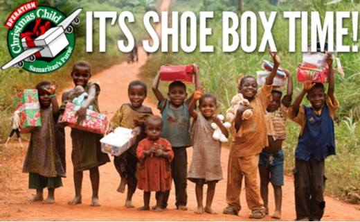 MONDAY, NOVEMBER 12th - Shoe box Packing Party | Everyone is invited to participate in the shoebox packing party. Please join us as we assemble boxes for children in third world countries.* Hosted by Cranbrook Alliance Church