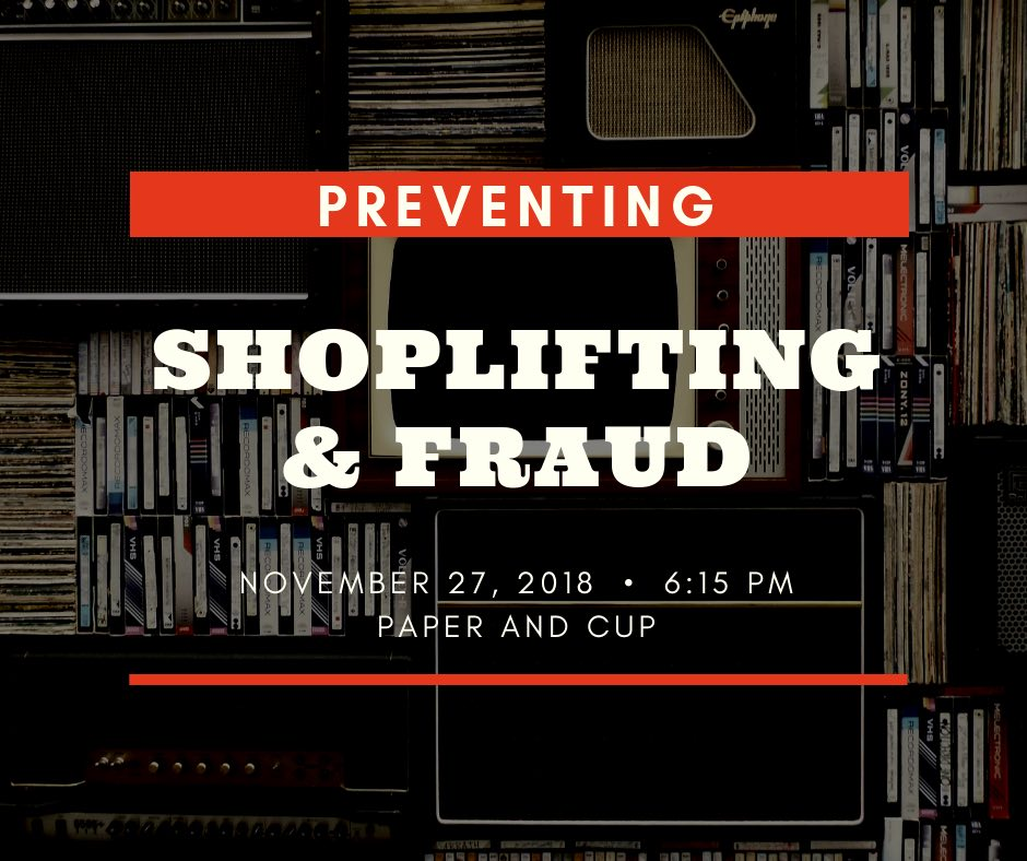 TUESDAY, NOVEMBER 27th - Protect your Business from Shoplifting and Fraud | Kimberley RCMP Sgt. Chris Newel will be providing business owners with information on how to reduce retail theft and shoplifting, how to confront shoplifters, and the rights of business owners. Sgt. Newell will also speak about Fraud and current practices that are affecting Professional Service businesses, and what to watch for.Location: Paper & Cup // Date: Tuesday, November 27th, 2018 //Time: 6:15 p.m // Please RSVP your attendance to: info@kimberleychamber.com* Hosted by Kimberley & District Chamber of Commerce