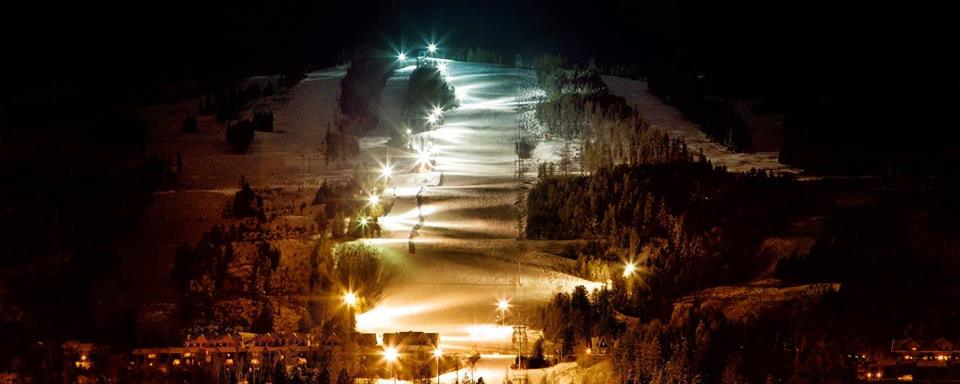 WEDNESDAY, DECEMBER 26th - Holiday Night Skiing | Come ski under the Longest Lit run in North America! Night skiing runs December 26 – January 5. Time: 5:30pm – 8:30pmPLEASE NOTE: ** Night Skiing on New Years Eve will be finishing early- 8:15pm for the Fireworks**Night skiing is included on every full day lift ticket purchased (on days when night skiing occurs) or purchase a night skiing season pass, available from guest services.* Hosted by Kimberley Alpine Resort