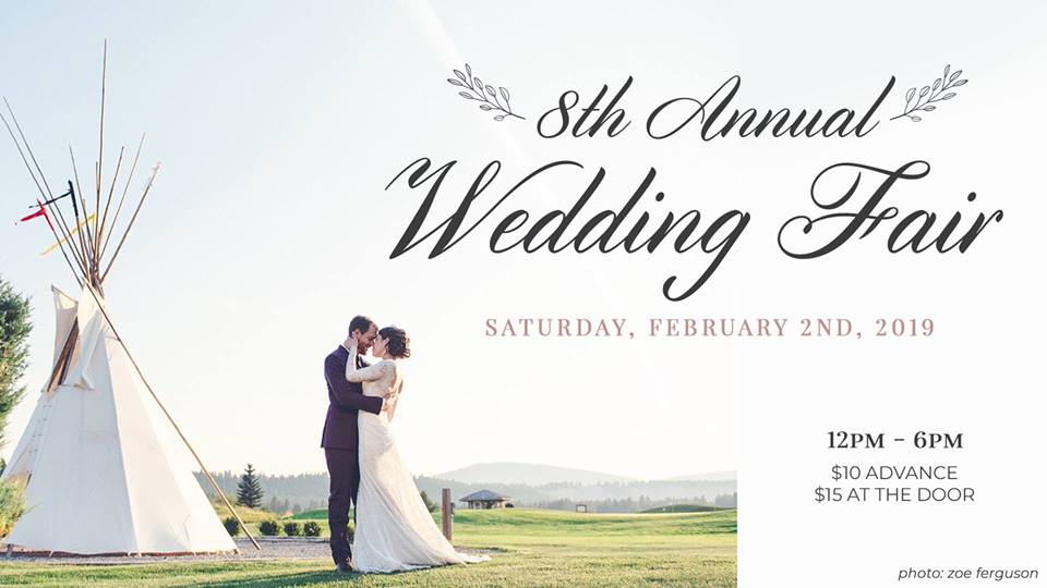 SATURDAY, February 2nd - 8th Annual Wedding Fair | Don't miss the 8th Annual Wedding Fair at St. Eugene Golf Resort & Casino! Come with your wedding entourage or sign up to be one of the many vendors to provide your service to Brides of 2019!2019 | F E A T U R E SVendors including photographers, florists, cake makers, make-up artists, hairstylists and caterers. Fashion show, comedy circus, swag bags and door prizes.Tickets are 10-dollars in advance and 15-dollars at the door. Arrive early and take in the Bridal Brunch Buffet for only 25-dollars!* Hosted by St. Eugene Golf Resort & Casino