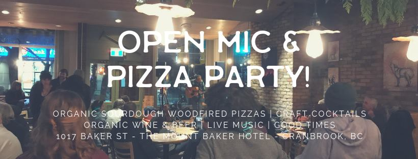 THURSDAY, February 7th - Open Mic & Pizza Party! | Its here! You have all been so excited about this pizza oven we have inherited and we are stoked to start using it! Every Thursday night we will be offering live music and our wood fired pizza menu.These evenings are a sneak peak at what you can expect once we go full force in the spring! Join us!* Hosted by Soulfood