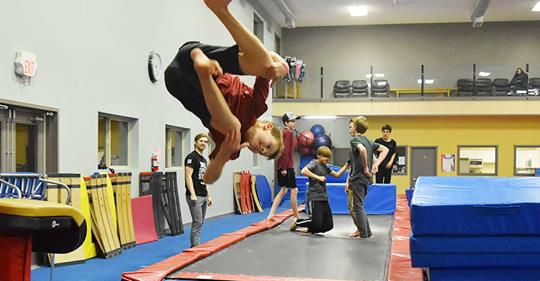 Sunday, February 10th - Parkour Jam | The countdown is on! 7 days until the 2019 Parkour Jam - hosted February 10th 1:30-5:30 (until 6:30 for ages 13+) at Key City Gymnastics Club! 💪🏽Come to an open gym style session with challenges, speed courses, and freestyle combos. Join us for an awesome day of parkour training and fun! A big thank you to @the_choice_shop Cranbrook!✅ Athlete registration for the 2019 Parkour Jam is OPEN on key city's e-gym online portal (scroll to PARKOUR JAM)* Hosted by Key City Gymnastics Club