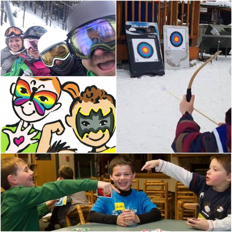 MONDAY, FEBRUARY 18th - Free Face Painting   Fun, colorful, creative, and great for all ages! Free Face Painting in Slope Side Cafeteria.Photo Scavenger Hunt   Grab the family come join us for a Photo Scavenger Hunt! This activity takes place on the Mountain and in the plaza area. So bring your skis or board AND your phone!Cherub Archery   Can you hit the Cherub with the Bow and Arrow? Come and try your skills at the Kidz Tent in the KAR Plaza @ 1pmKidz Night Out   Kidz Night Out is a fun evening of activities for children in a safe supervised environment. Along with an evening of jam packed activities, kids will enjoy a dinner at Buckhorn & Main Mountain Eatery. Kidz Night Out is available for ages 5-12.* Hosted by Kimberley Alpine Resort