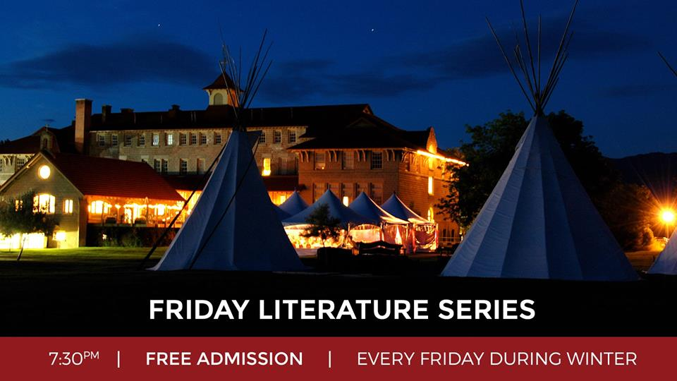 Friday, March 1st - Friday Literature Series - St. Eugene Resort | We are ecstatic to expand on our Writer's Conference this coming new year with the Friday Literature Series. These wonderful evenings are completely free to the public, every Friday, beginning January 11th at 7:30pm!There is also an opportunity to break bread with your favourite authors in a more intimate setting before each evening begins. Reservations are limited, so be sure to book in advance! Head over to our website for an author schedule and more details on Dine. Chat. Listen. (steugene.ca/friday-literature-series)* Hosted by St. Eugene Golf Resort & Casino
