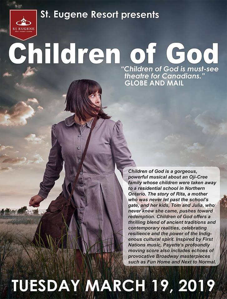 TUESDAY, March 19th - Children of God | Urban Ink's