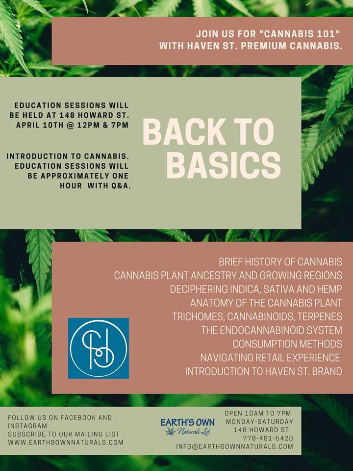 WEDNESDAY, April 10th - Back To Basics-