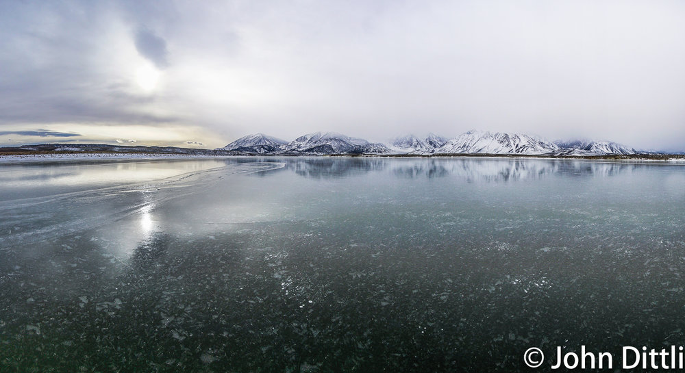 What six square miles of perfect ice looks like