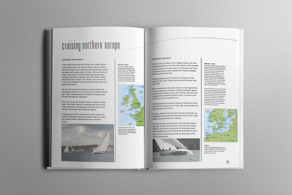 Redesign sailing manual (2007)