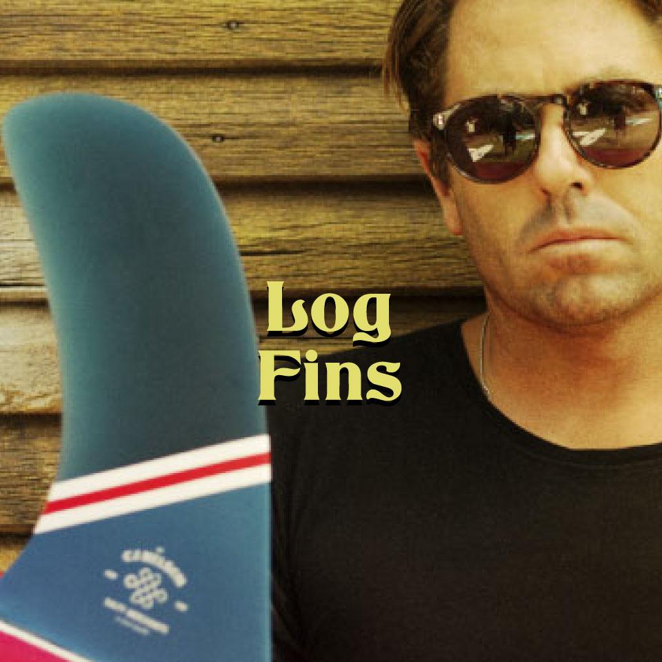 Log & Longboard noseriding fins