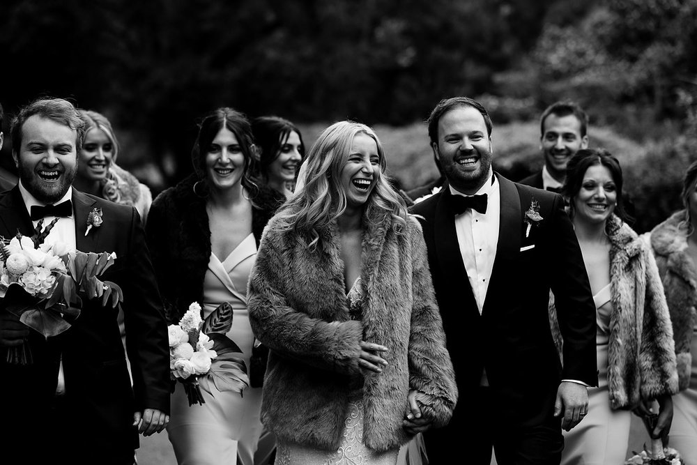documentary style wedding photography at abbotsford convent