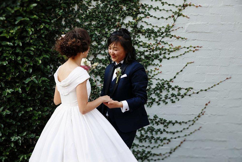 Dolly & Annie - melbourne wedding