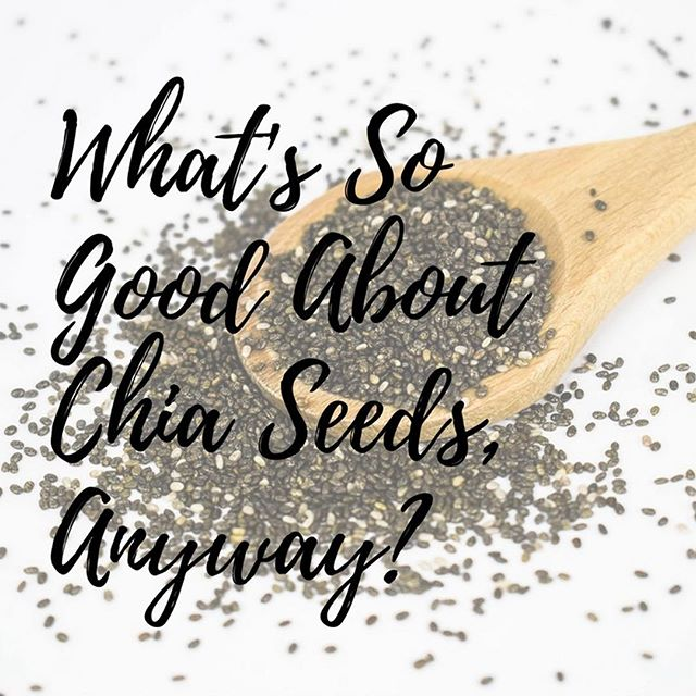 Just in case you were wondering... chia seeds rock!! 🤘🏼 They're pretty versatile little things and help to make some of my most delicious recipes. Check them out and find out why they're a great addition to your diet in my blog post. Link in bio... Kirsty xx.