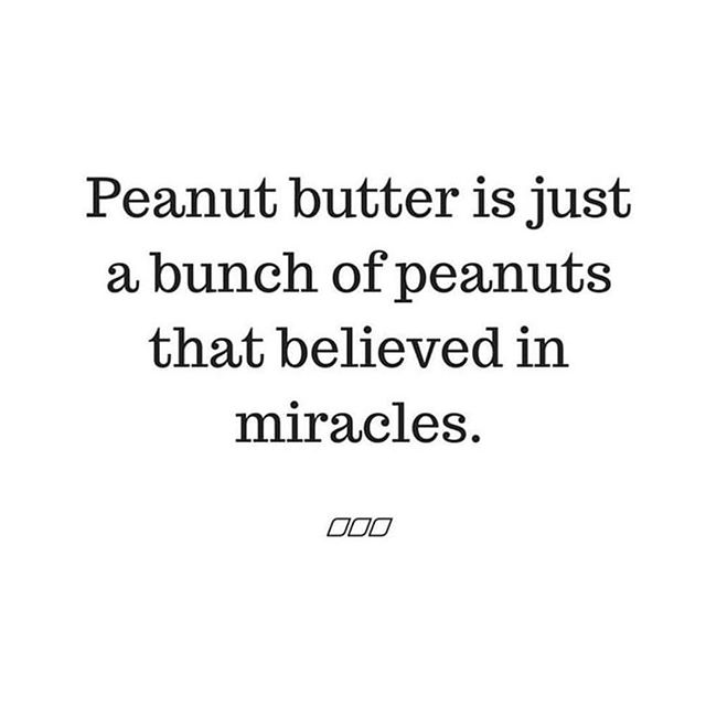 True story! 😂 I'll be showing you how to whip up your very own peanut butter (aka jar of miracles) and turn it into the yummiest truffles at my sweet treats class on 3rd December. Come and join me at the @beachlane Soulful Sunday Retreat where you'll be pampered, nourished and inspired with a day of art therapy, yoga, a beautiful lunch, my class and guided meditation . Book your tickets at https://www.beachlane.co/special-events.⠀ Hope to see you there! 💖 Kirsty xx.