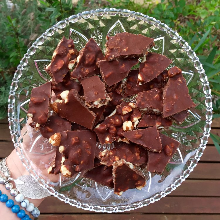 Spiced Orange & Almond Chocolate