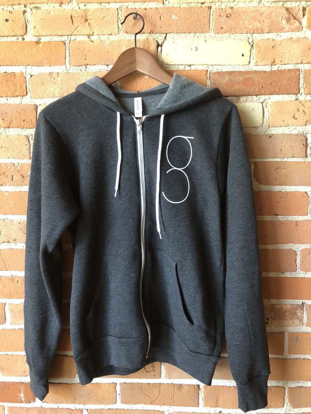 - Dark Grey Grace Yoga Hoodie Zip-up$60