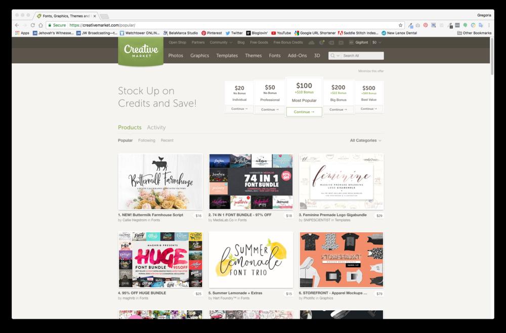 Creative Market | BelaMarca Studio