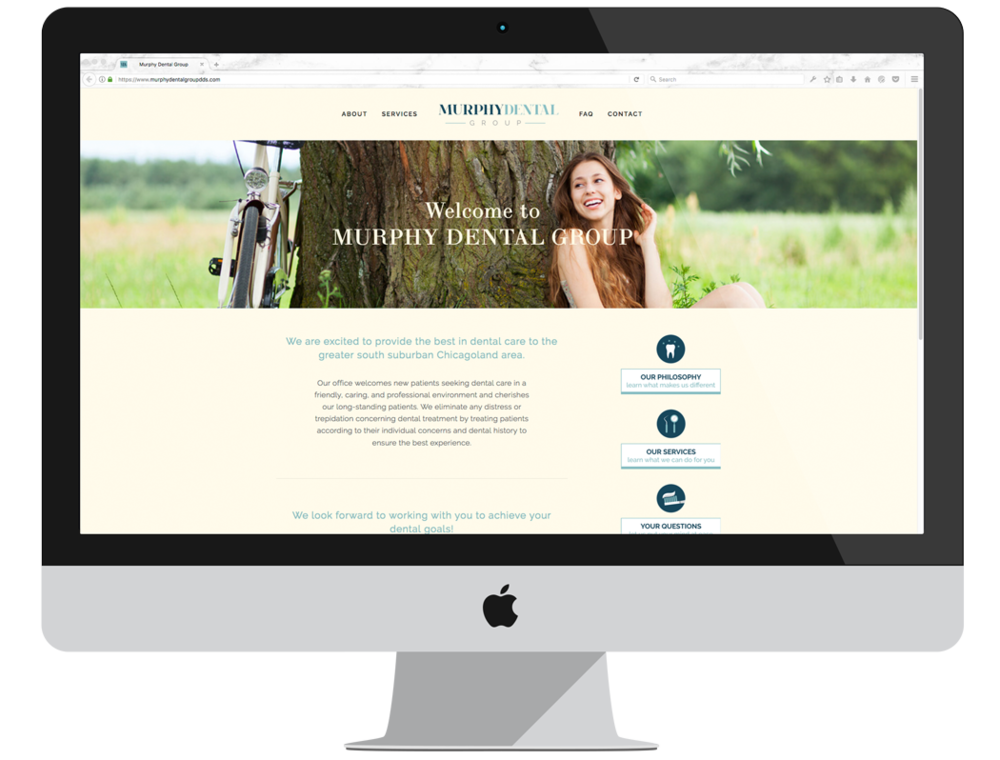 Murphy Dental Group | Website Design | BelaMarca Studio
