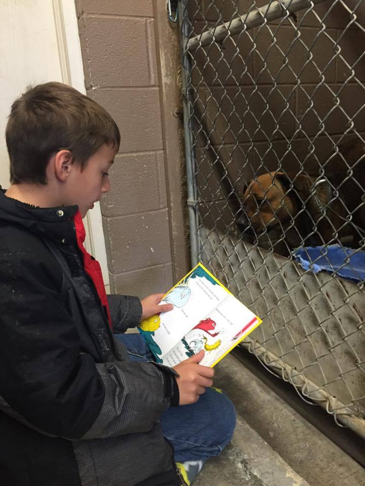 dAISY ADORES DR. SEUSS AND LOOKs FORWARD TO READING GROUP EVERY WEEK!