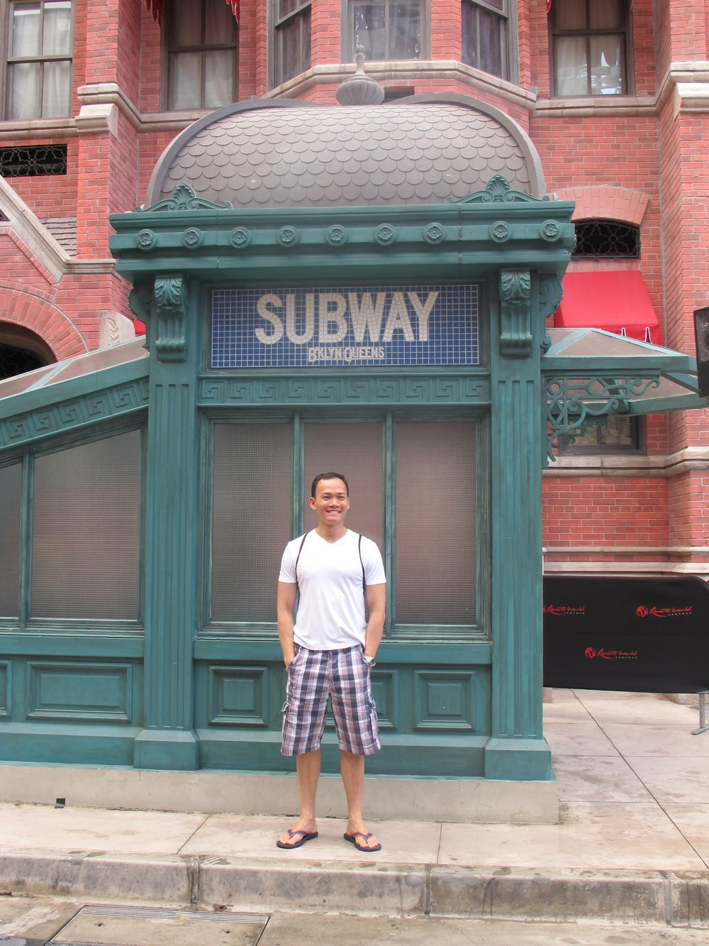 Richard fake Subway October 2010.JPG