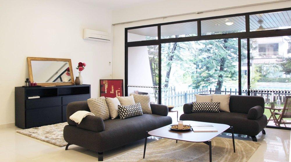 JERVOIS MANSION - 3+1 Garden Maisonette with great facilitiesS$9,000