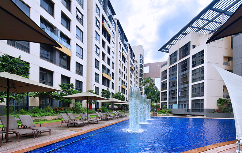 RIVER PLACE - 2 Bedroom + utility room on a high floor near CBD and ChinatownS$6,000