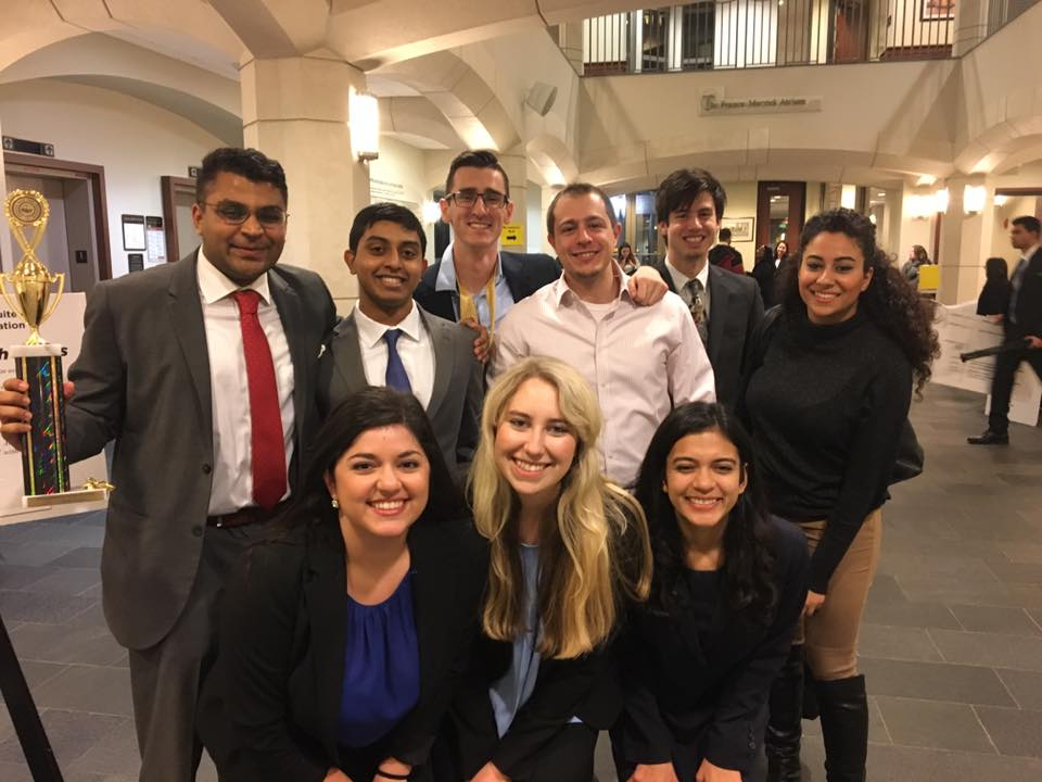 The A team will be competing now for a spot among the top 48 teams in the nation as they argue in the civil case Riley Winter vs. TBD, Inc.