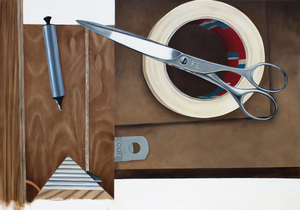 Memorabilia. 2013, oil on canvas, 140cm x 200cm