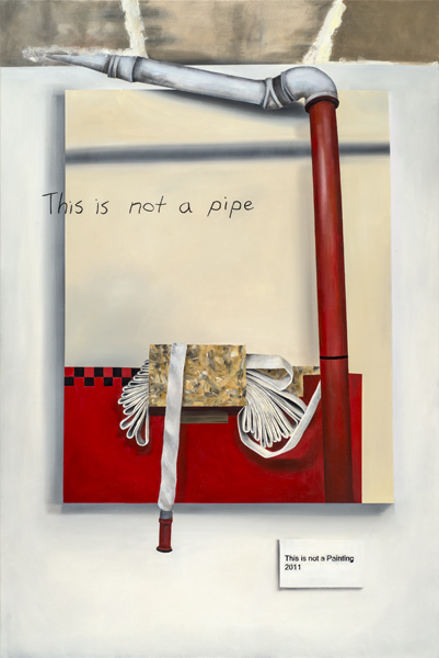 "This Is Not A Problem, 2012. Oil on canvas, 140cm x 90cm / 35.5"" x 55"""