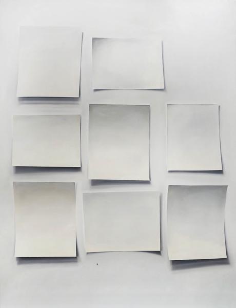 """Fresh Taint 2012, Oil on canvas, 90"""" x 67.5"""""""