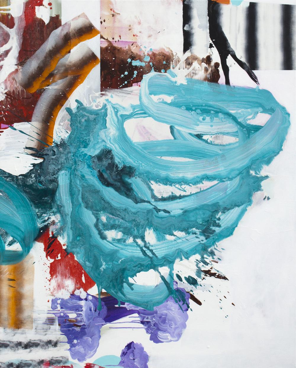 """Chorus,2014. Acrylic on canvas,60"""" x 48"""""""