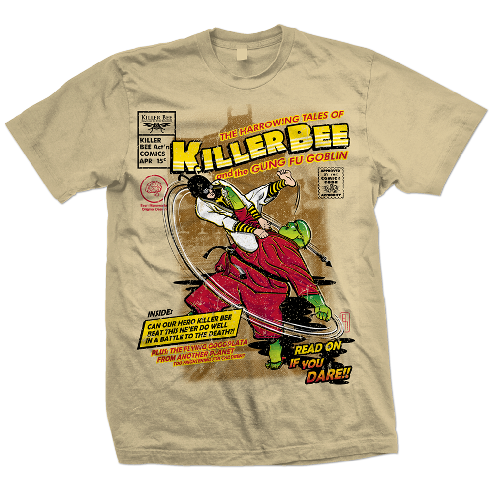 Evan-Mannweiler---Please-Don't-Steal---Killer-Bee-Comic-TShirt.png