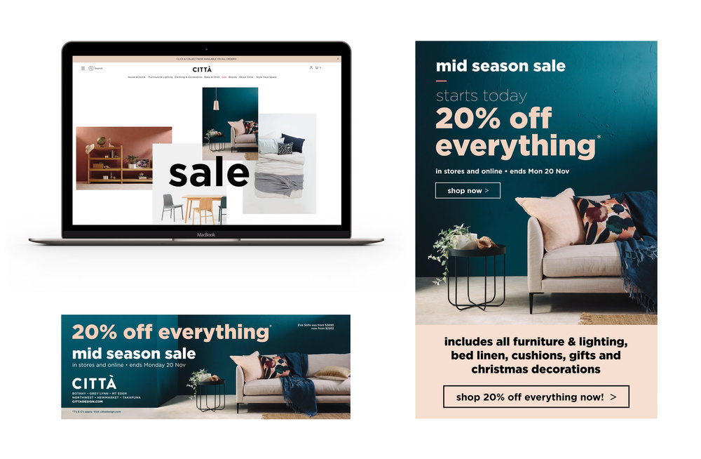 Mid season sale collateral