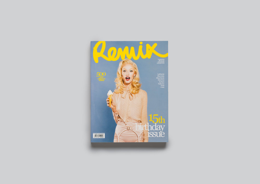 Remix magazine 15th birthday issue