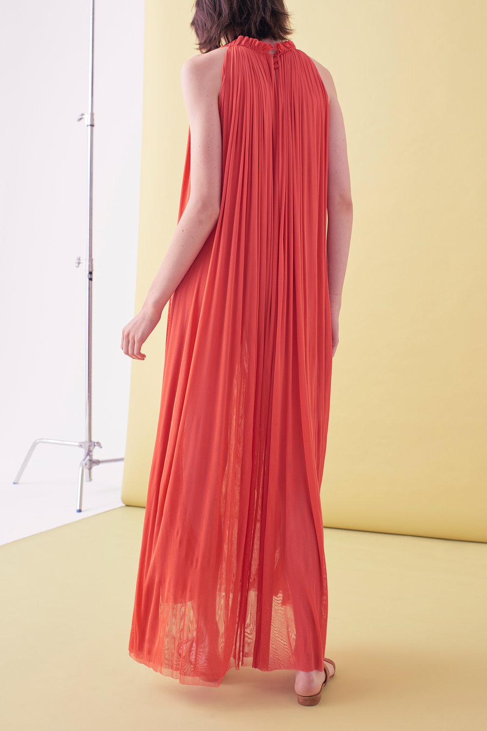 Sarah_Swann_SS17_02_Silk_Mesh_Step_Front_Dress_Coral_B.jpg