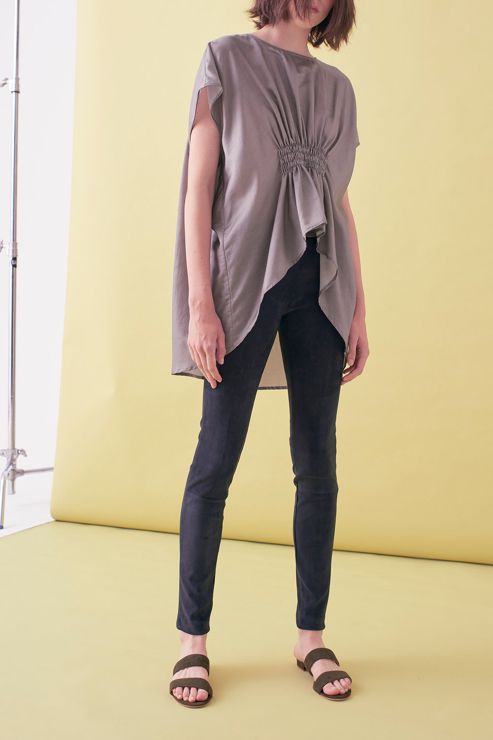 Sarah_Swann_SS17_05_Silk_Blend_Shirring_Blouse_Pewter_F.jpg