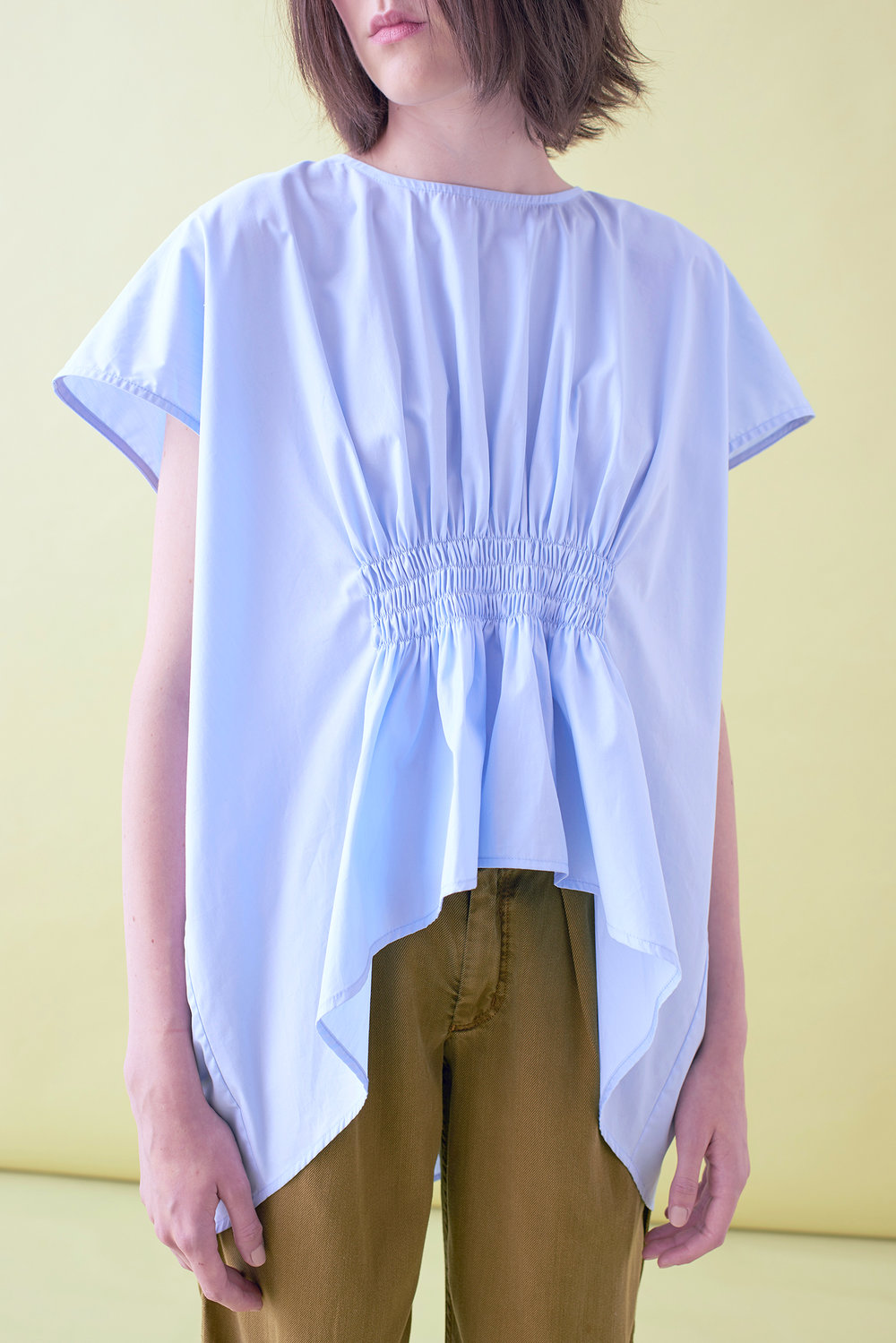 SHIRRING BLOUSE     –    IN STOCK