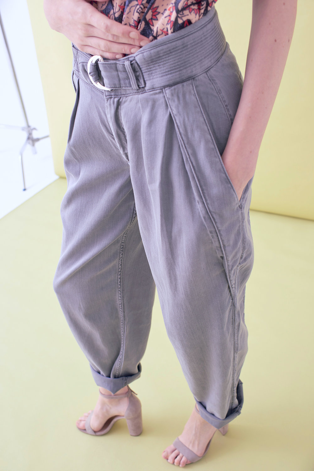 LONG TAPERED TROUSER    – IN STOCK