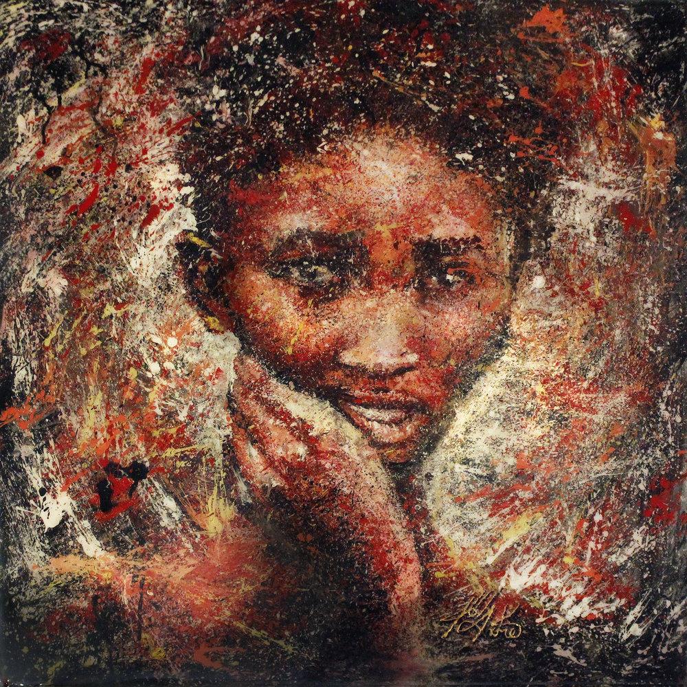 Khoisan Woman 2016