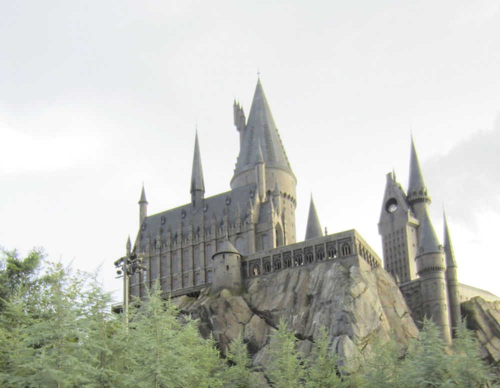 A Visit to Hogwarts Castle During a family vacation.